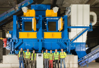 A TEC Rocket Mill RM 2.50 double starts operation in Austria